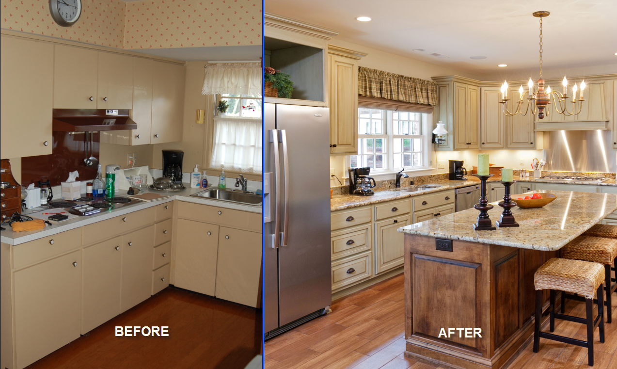Steps to get interior decoration services for your home for Kitchen rehab ideas