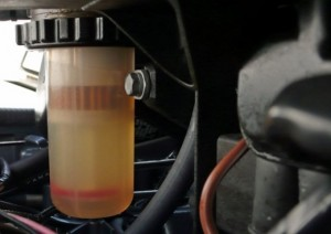 What To Do When Water Accumulates Inside Fuel Tank?