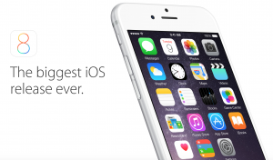 Apple iOS 8 – The newest version available
