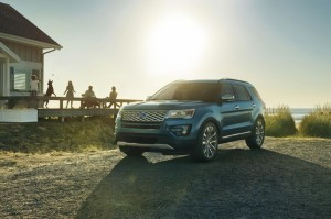 Ford Explorer Gets a Makeover in 2016