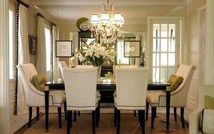 Creating a light, bright dining room to thrill your guests