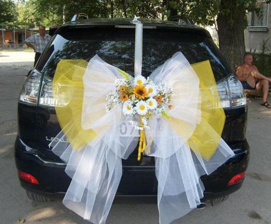 Фото свадебных машин своими руками