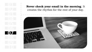 Develop a Rhythm for your Email Marketing