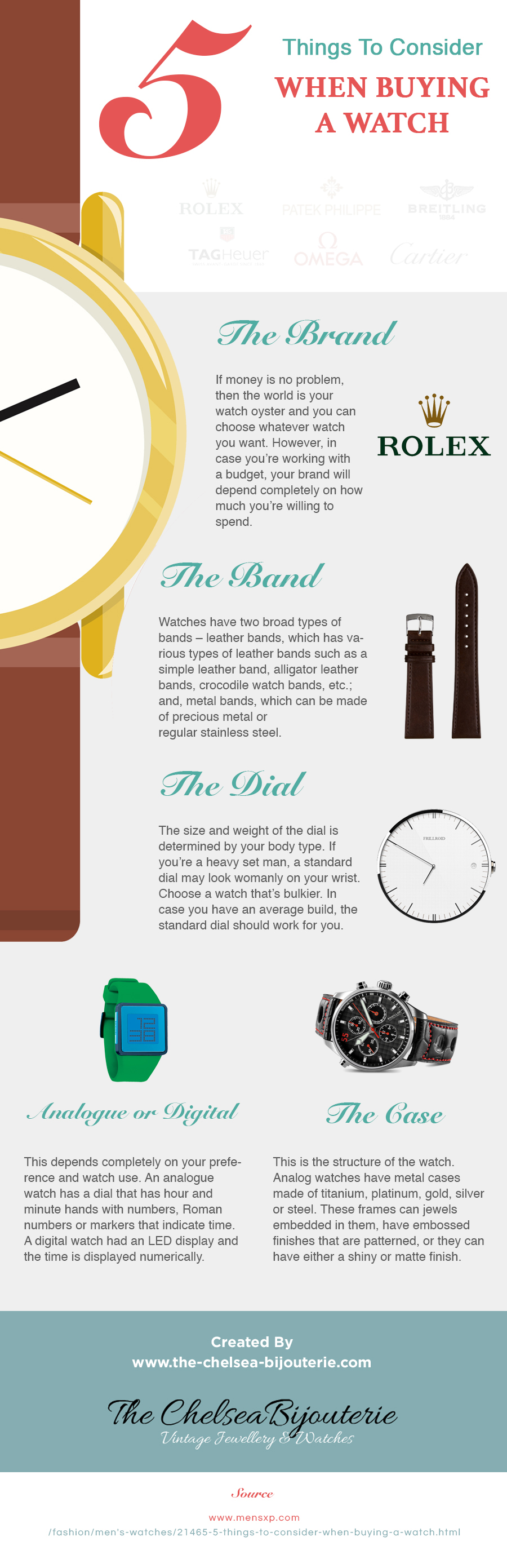 5 Things To Consider When Buying A Watch