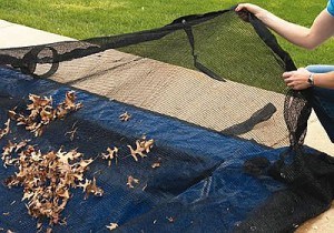 How To Remove Leaves from A Pool Cover