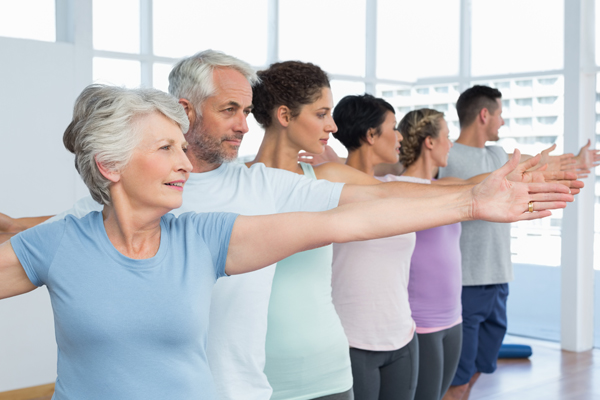 The Power Of Group Exercise In Seniors