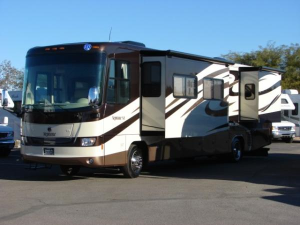requirements when buying used class A motor homes