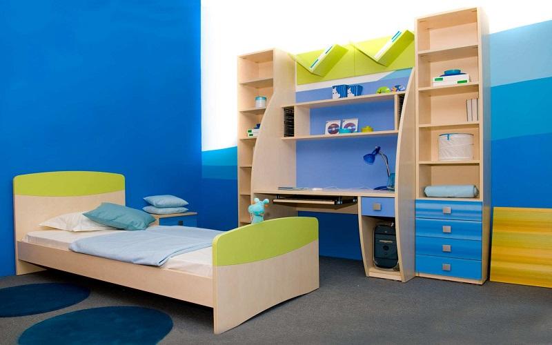 beautiful room of baby