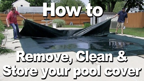Store a Pool Safety Cover